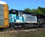 NS 3329 on UP train A DEWF 9-30-03