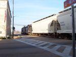 MTNR 1084 & 8294 pulling through Railroad Ave.