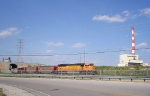 BNSF 8800 at Kansas City Power and Light