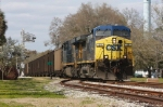 CSX 31 & 910 Lead a Coal Train South