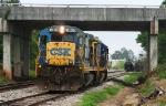 CSX 5869 on A738