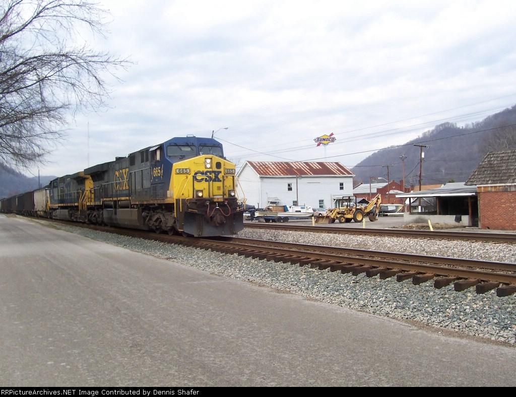 U797 @ Marmet, West Virginia