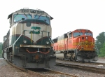 BN 9709 and BNSF 8983