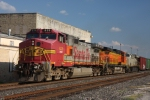 BNSF 629 leads trackage right run through