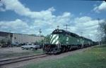 1340-14 Westbound BN coal empties