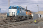 EMDX 752 and BNSF 2034
