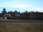 CN Engine # 2638 Working The Yard