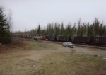 CN Leaveing Partridge Yard