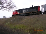 CN Enters The Yard