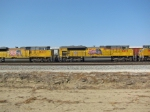 All the SD70ACe's in the 8400's lined up....There was so many!