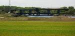 Conrail SA crews working on the bridge