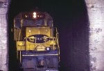 ATSF 5508 in Tunnel #9