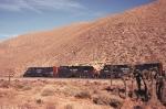 SP 8275, 8984 and 9364 eastward through Cameron siding.