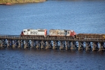 SOO 4603 on Grassy Point Drawbridge
