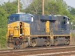 CSX 708 & 803 sit further into the yard