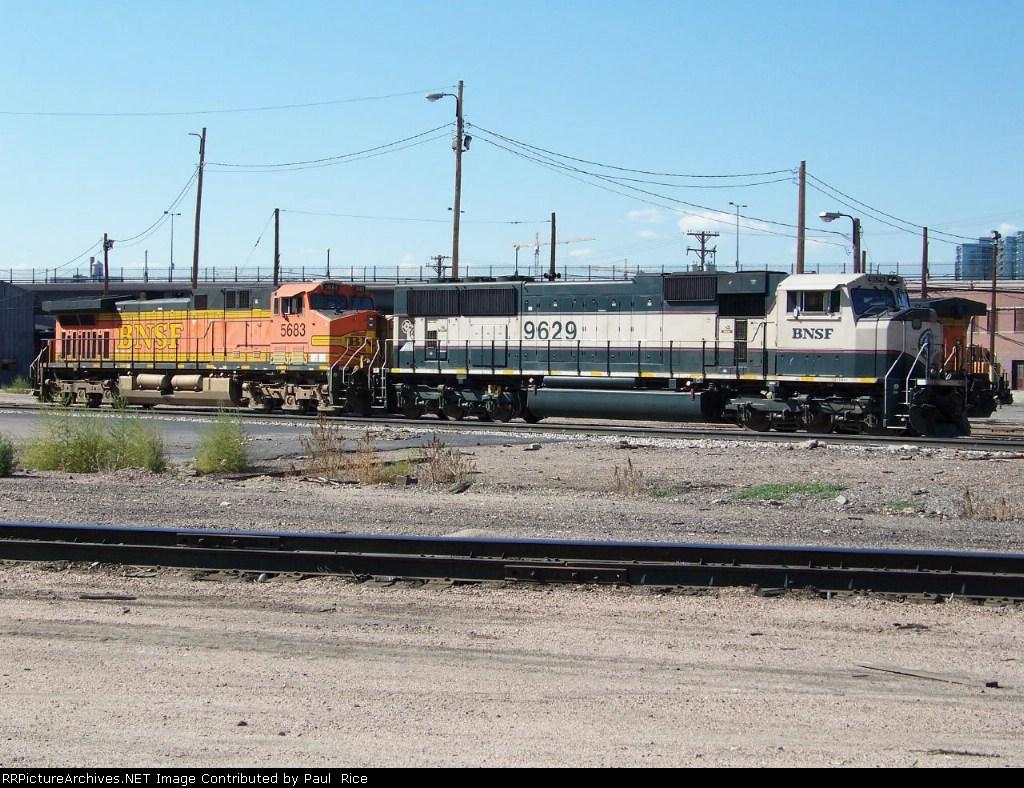 BNSF 9629