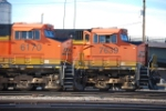 BNSF 6170 & 7639 Waiting to go to work