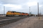 BNSF 8941 Leads South Bound Coal Train