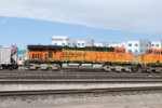 BNSF 5967 Helper On A South Bound Coal Train