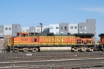 BNSF 4536 Leads A South Bound Freight Train