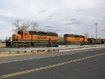 BNSF 7832 Leads The Beer Train