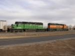 BNSF 7325 Leads Beer Train East