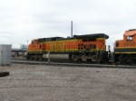BNSF 4800 At Denver Yard