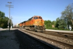 BNSF 4163 heads for Corwith