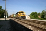BNSF 6724 leads an auto train