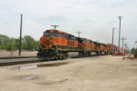 BNSF 1105 is making up for lost time