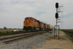 BNSF 7719 headed for San Bern