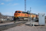 BNSF 5770 Leads A South Bound Coal Train