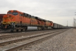 BNSF 6192 & 5666 Helpers On A South Bound Coal Train