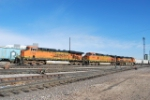 BNSF 1111 Leads BNSF 4305 & BNSF 7794 Into The Yard