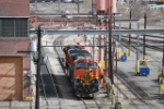 BNSF 1058 Taking on Fuel & Sand