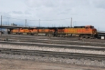 BNSF 5436 Headed Into The Yard