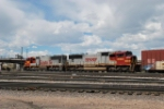 BNSF 8222 & 8300 Leaves Denver Headed For Coors Brewery In Golden