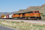 BNSF 4536 Leads The East Bound Beer Train