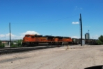 BNSF 9348 Leads A South Bound Coal Train