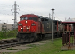 Old school CN rolling through Dorval