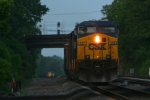 CSX Freight at night