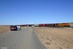 BNSF 5097 DPU & Foamers....