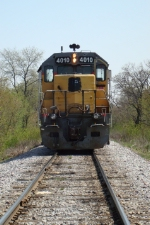 Head-on view of WSOR 4010
