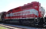 The other SD40M-2 WSOR 4076 is the third unit