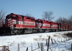 WSOR 4009 is the lead unit on another parked HJ