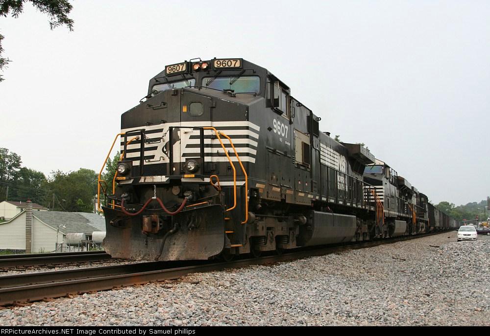 NS 9607 pushing 824
