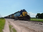 CSX train O680 switches at Nichols, FL