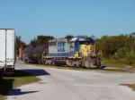CSX local O805 at Bartow, FL