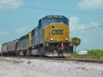 CSX local O806 at Nichols, FL