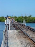 O823 at the Little Manatee River drawbridge